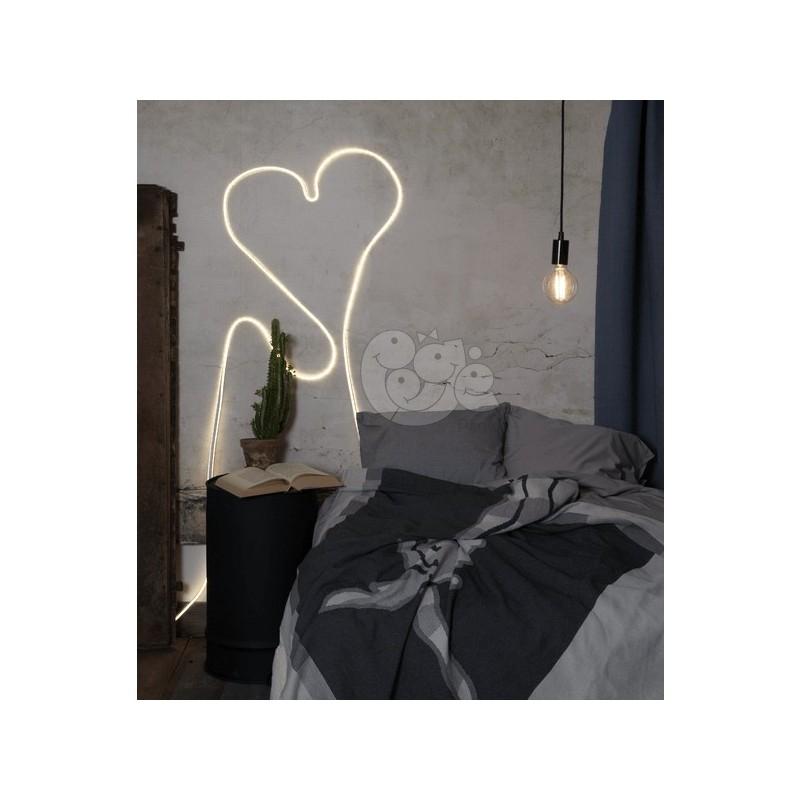 LED šviečianti balta juosta 6 m, 360 LED