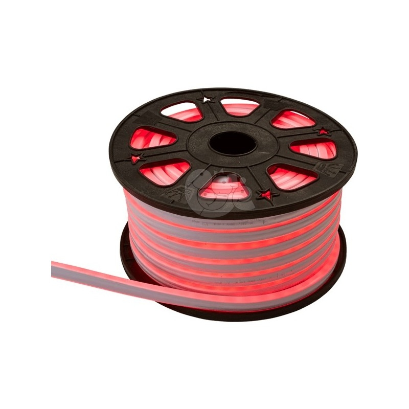 LED lanksti šviečianti raudona juosta 30 m, 1800 LED