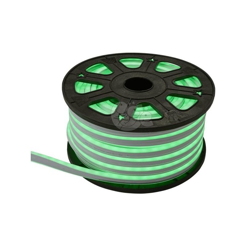 LED lanksti šviečianti žalia juosta 30 m, 1800 LED