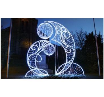 3D dekoracija fontanas