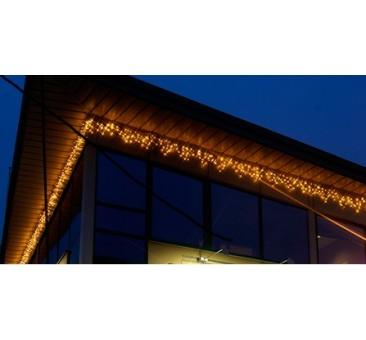 Lauko girlianda varvekliai 50 LED, šiltai balta, 3 m, H - 40 cm