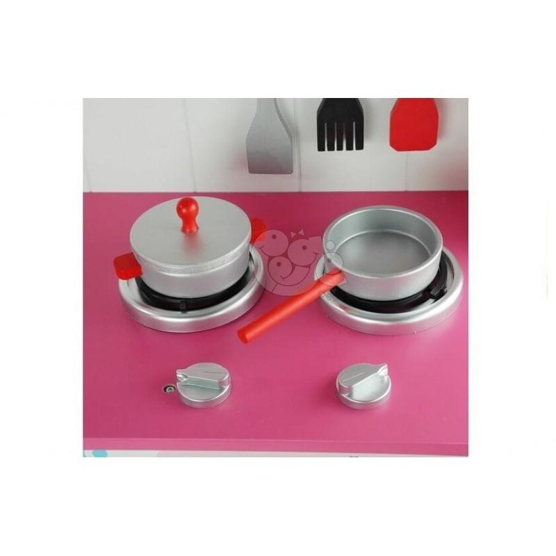 Medinė vaikų virtuvėlė MARIKA