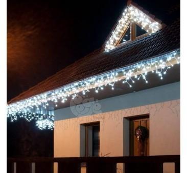 Lauko girlianda varvekliai 60 LED su FLASH, 3m., H 0,5 m, šaltai balta