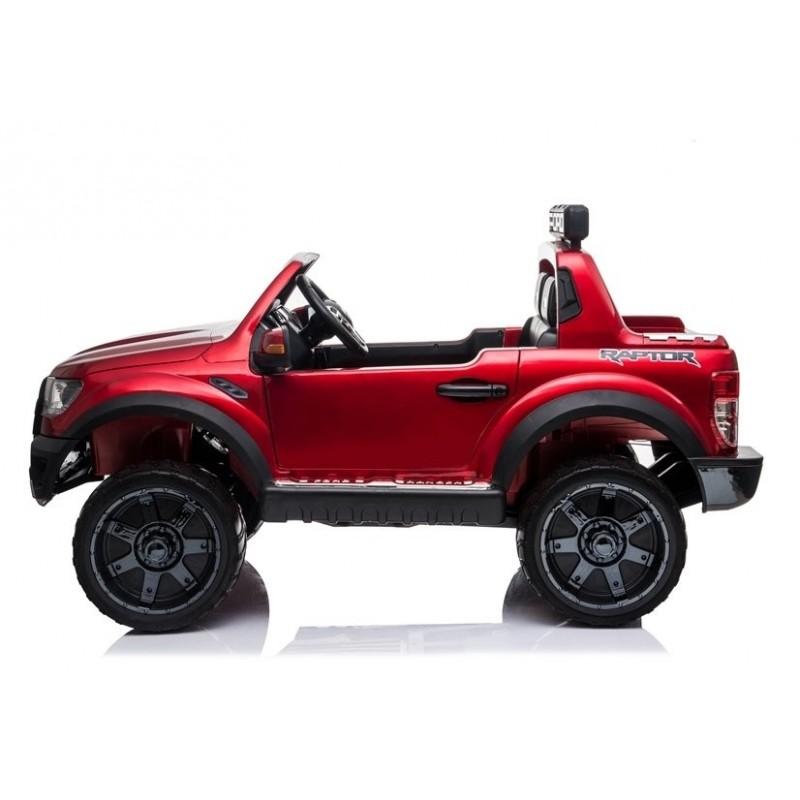 Elektromobilis FORD RAPTOR, 12V, raudonas lakuotas