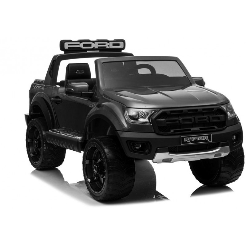 Elektromobilis FORD RAPTOR, 12V, juodas lakuotas