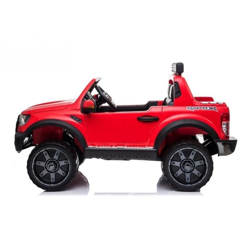 Elektromobilis FORD RAPTOR, 12V, raudonas