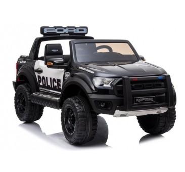 Elektromobilis FORD RAPTOR POLICE, 12V, juodas