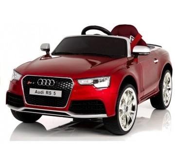 Elektromobilis AUDI RS5 raudonas 12V