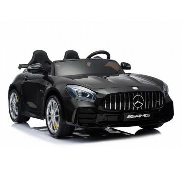 Elektromobilis MERCEDES GTR 4x4 2x12V juodas
