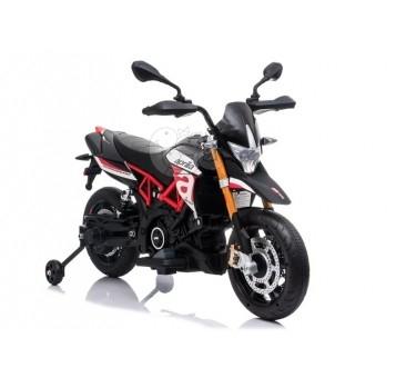 Elektromobilis motociklas APRILIA A007, raudonas