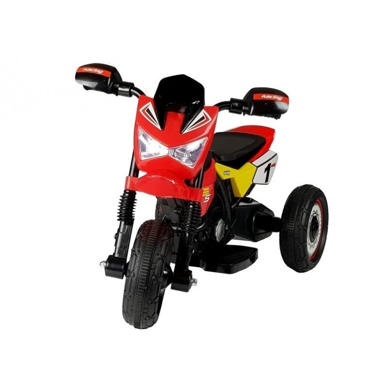 Elektromobilis motociklas GTM2288-A, raudonas