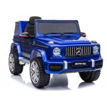 Elektromobilis MERCEDES G63 AMG, 12V, mėlynas lakuotas