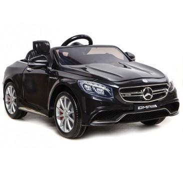 Elektromobilis MERCEDES S63, 12V, juodas
