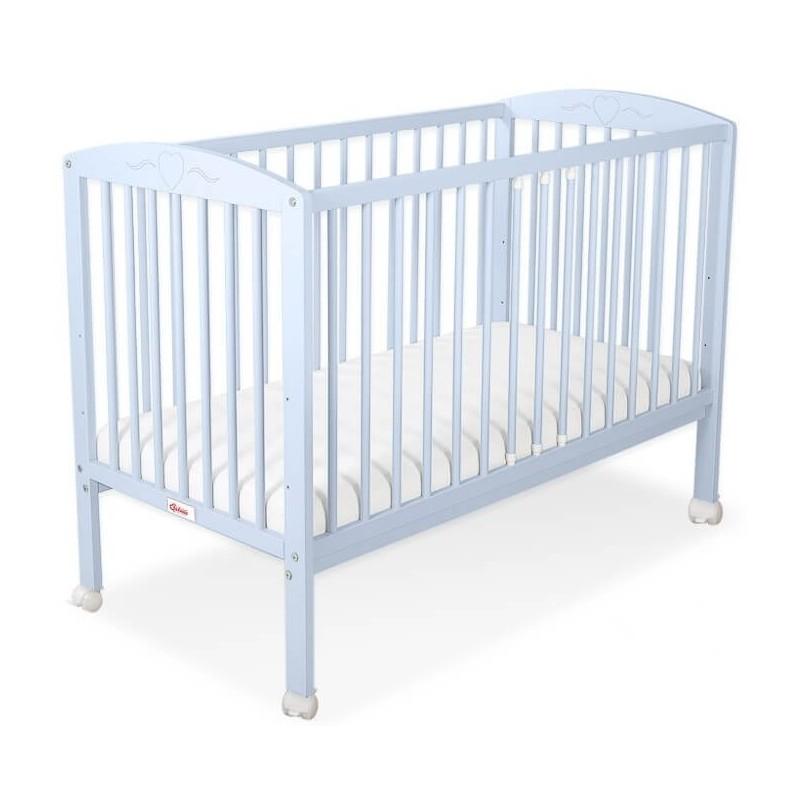 Vaikiška lovytė HEART 60 x 120, mėlyna