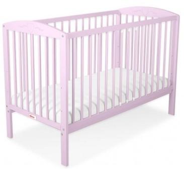 Vaikiška lovytė HEART 60 x 120, rožinė