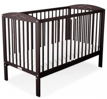 Vaikiška lovytė HEART 60 x 120, ruda