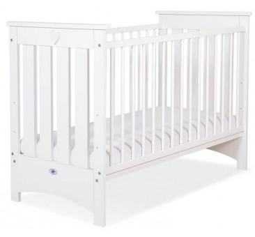 Vaikiška medinė lovytė LIZA, balta