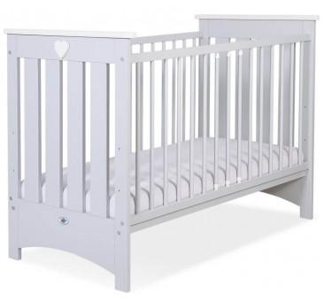 Vaikiška medinė lovytė ENZO, pilka
