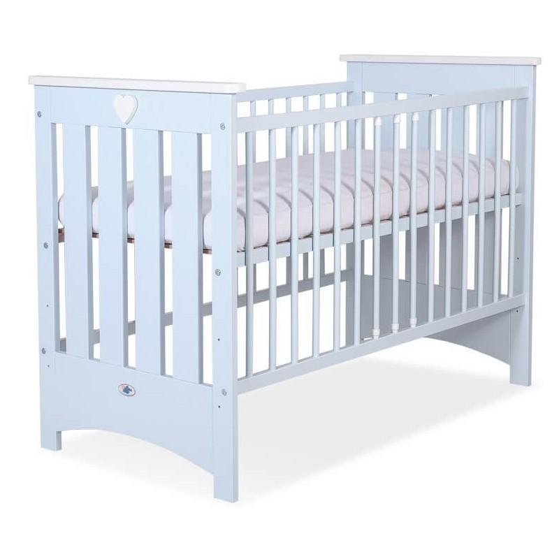 Vaikiška medinė lovytė ENZO, mėlyna