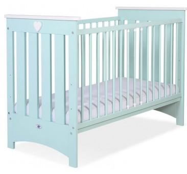 Vaikiška medinė lovytė ENZO, mėtinė