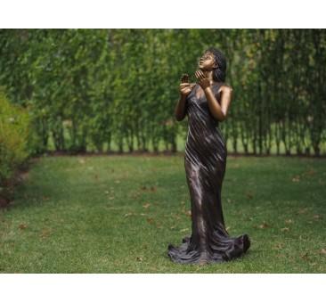 Sodo skulptūra, 110x50x48cm