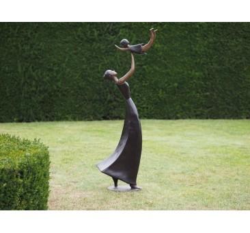 Sodo skulptūra, 150x60x32cm