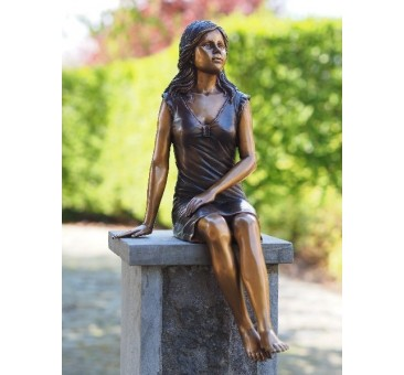 Sodo skulptūra, 52x26x23cm