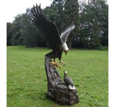 Sodo skulptūra H 171cm E1024