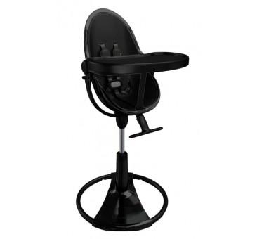"""Maitinimo kėdutė """"Bloom Fresco Chrome black"""" + juodas įdėklas"""