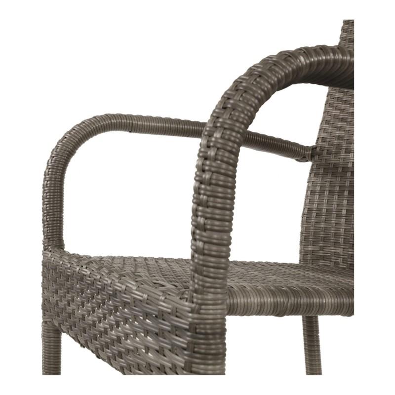 Pinta kėdė CORONA, pilka