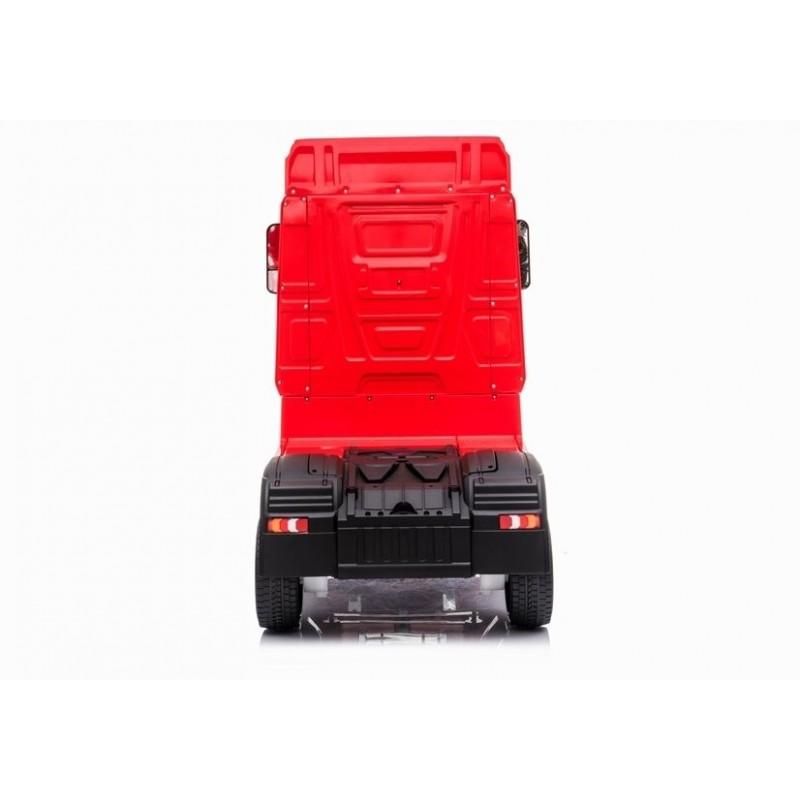 Sunkvežimis MERCEDES ACTROS, 4x4, 2x12V, raudonas lakuotas