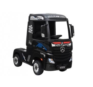 Sunkvežimis MERCEDES ACTROS, 4x4, 2x12V, juodas lakuotas