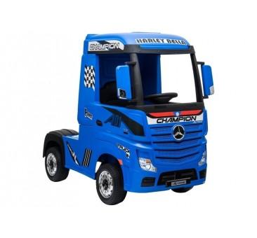 Sunkvežimis MERCEDES ACTROS, 4x4, 2x12V, mėlynas LCD