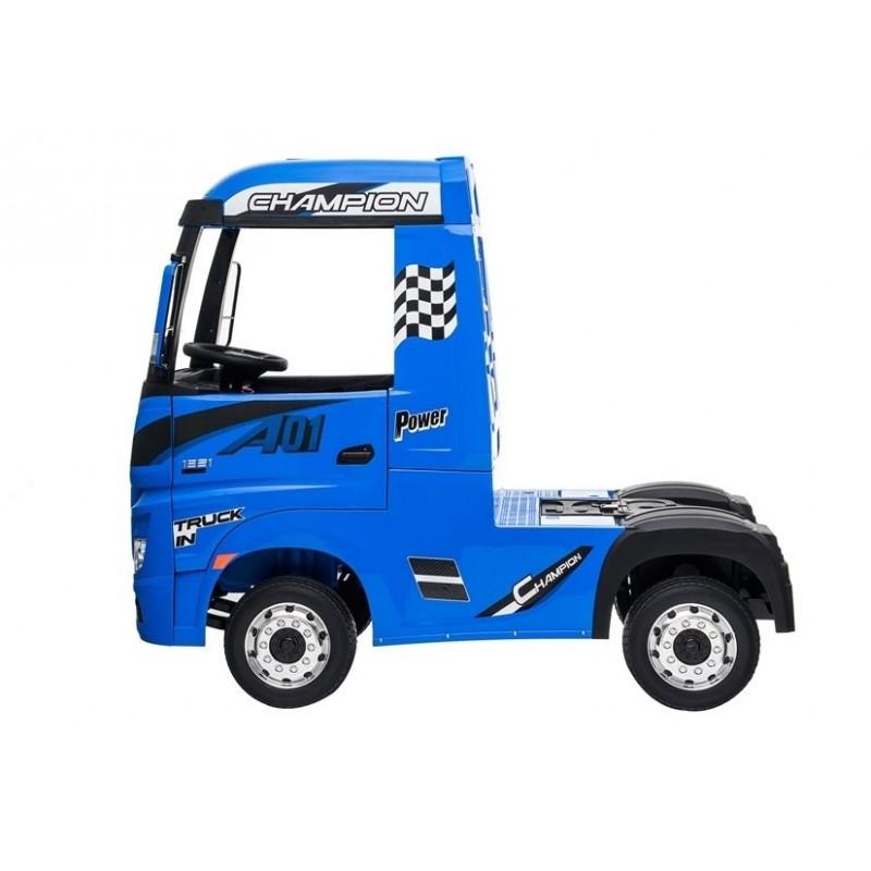 Sunkvežimis MERCEDES ACTROS, 4x4, 2x12V, mėlynas