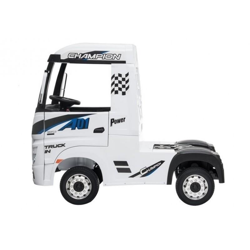 Sunkvežimis MERCEDES ACTROS, 4x4, 2x12V, baltas
