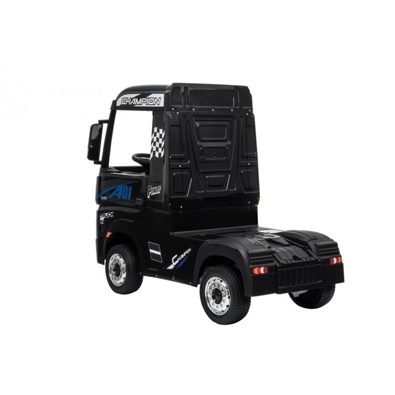 Sunkvežimis MERCEDES ACTROS, 4x4, 2x12V, juodas