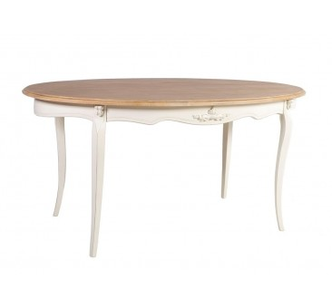 Pietų stalas ELIZABETH, 160x90xH77cm