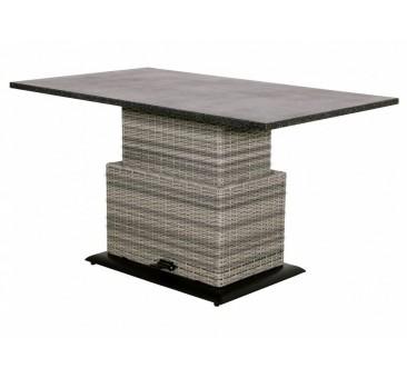 Reguliuojamas staliukas SOHO CLOUD, 130x75x45/72cm