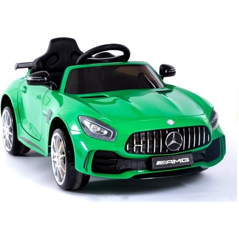 Elektromobilis MERCEDES AMG GT R, 2x6V, žalias