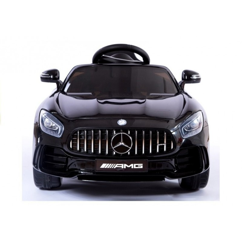 Elektromobilis MERCEDES AMG GT R, 2x6V, juodas