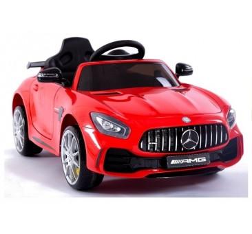 Elektromobilis MERCEDES AMG GT R, 2x6V, raudonas