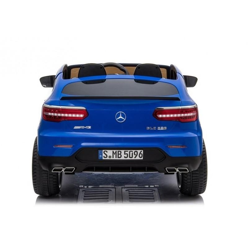 Elektromobilis MERCEDES GLC 63S, 4x4, 12V, mėlynas lakuotas