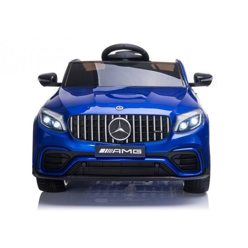 Elektromobilis MERCEDES GLC 63S, 12V, mėlynas