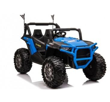Elektromobilis JEEP JC999, dvivietis, 4x4, 12V, mėlynas