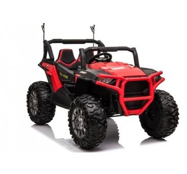 Elektromobilis JEEP JC999, dvivietis, 4x4, 12V, raudonas