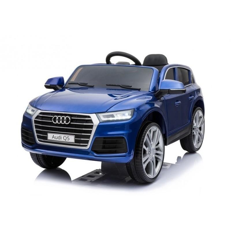 Elektromobilis AUDI Q5, 12 V, mėlynas lakuotas