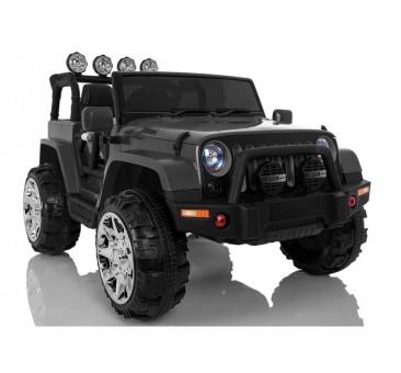 Elektromobilis JEEP A999, 4x4, 12V, juodas