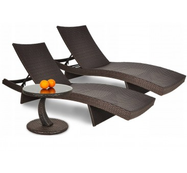 Lauko gultai WALE + staliukas