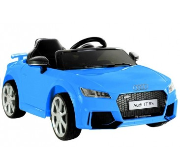 Elektromobilis AUDI TT RS, 2x6V, mėlynas