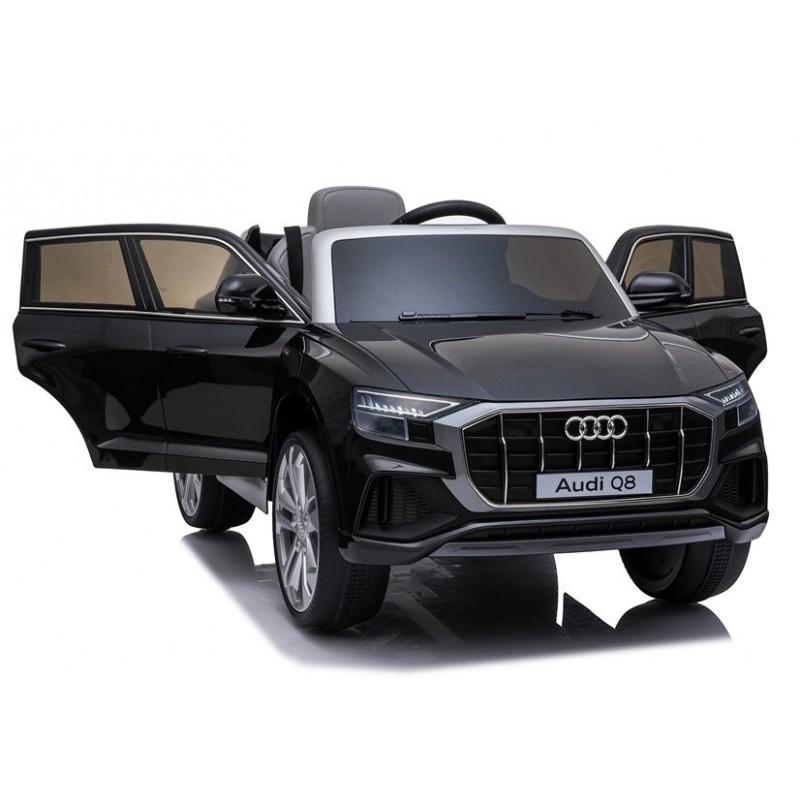 Elektromobilis AUDI Q8, 12V, juodas